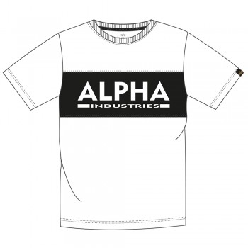 Alpha Inlay T - white/black