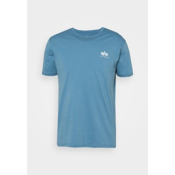 Basic T Small Logo - airforce blue