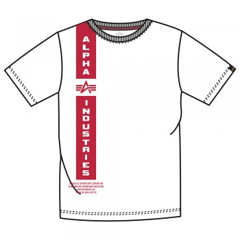 Defense T - white/red