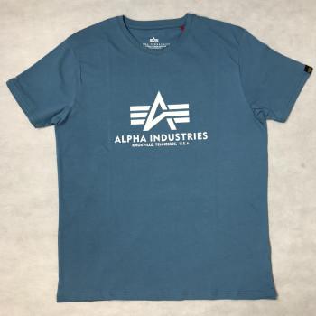 Basic T - airforce blue