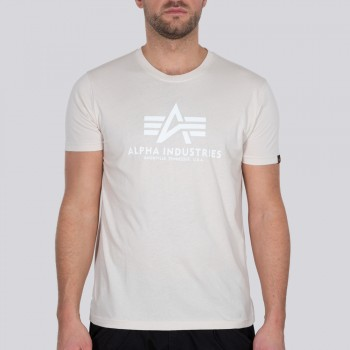 Basic T - jet stream white/white