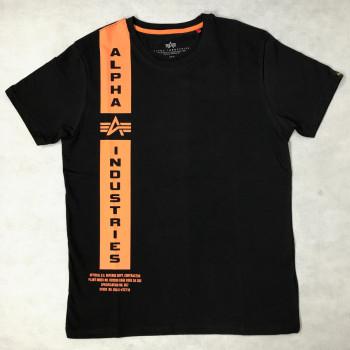 Defense T - black orange