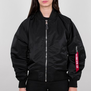 MA-1 OS LW Woman - fekete