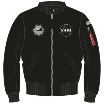 MA-1 TT NASA Reversible Woman  - black