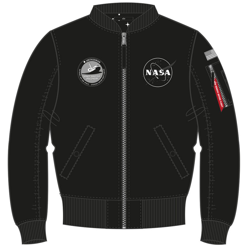 MA-1 TT NASA Reversible Woman  - black