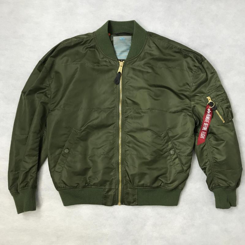 MA-1 LW OS Woman - dark green - sale
