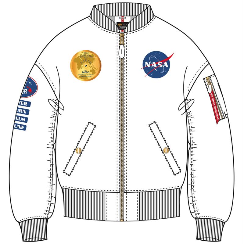 MA-1 TT OS Voyager Woman - fehér