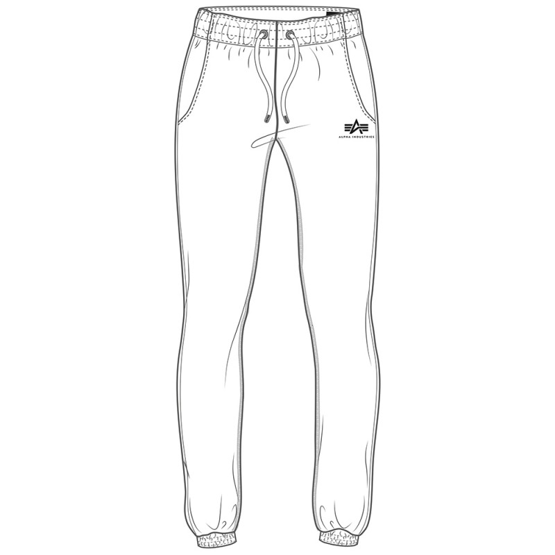 Basic Jogger SL Woman - white