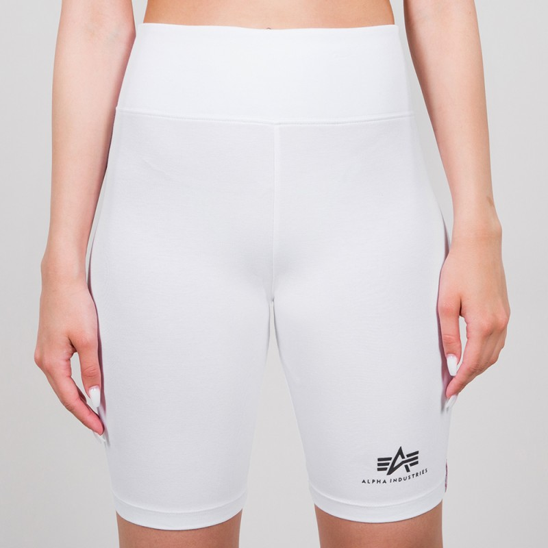 Basic Bike Shorts SL Woman - fehér