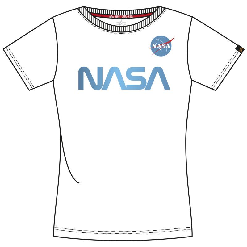 NASA PM T Woman - white/airforce blue