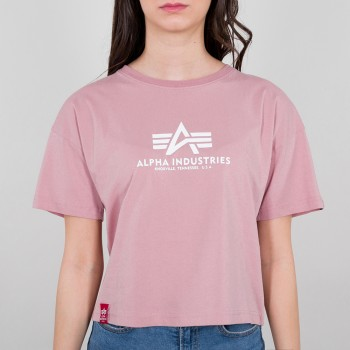 Basic T COS Woman - silver pink