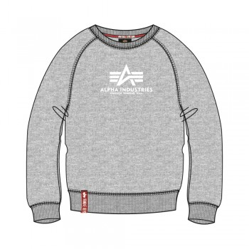 New Basic Sweater Woman - grey heather