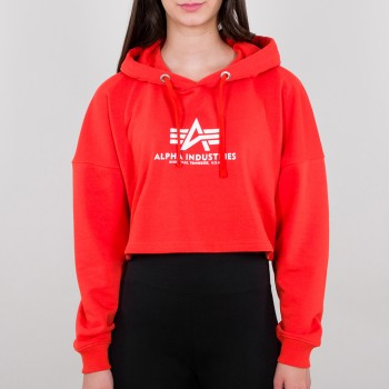 Basic Hoody COS Woman - atomic red