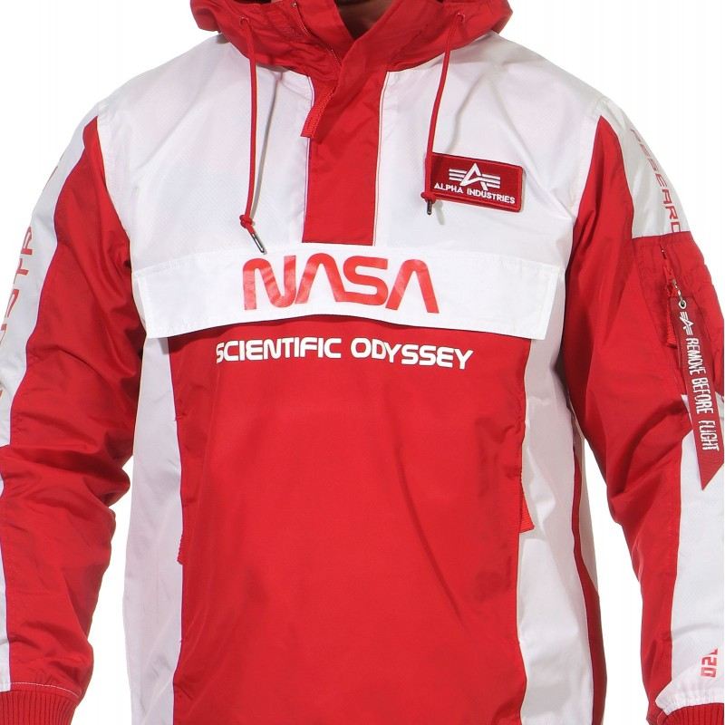 Odyssey Anorak - speed red
