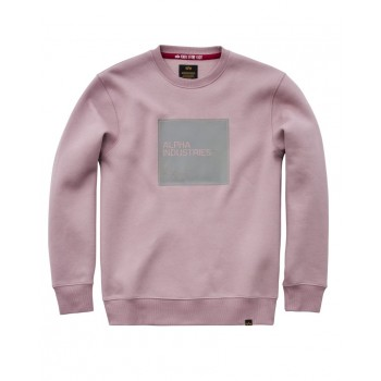 Label Sweater - silverpink