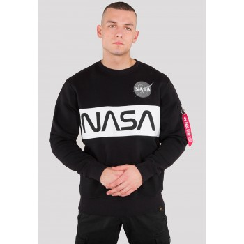 NASA Inlay Sweater - black