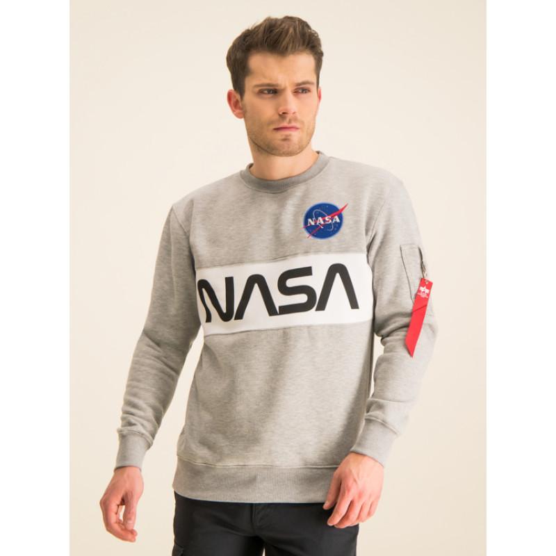 NASA Inlay Sweater - greyheather