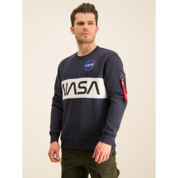 NASA Inlay Sweater - replica blue
