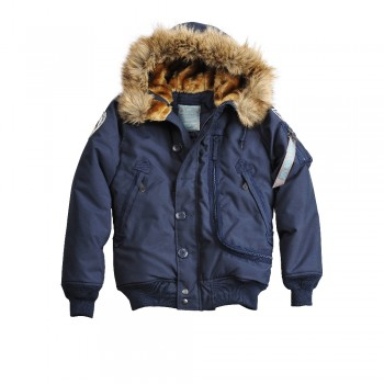 Polar Jacket SVL Woman - replica blue