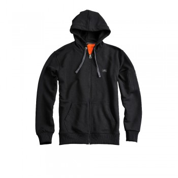 X-Fit Zip Hoody - black