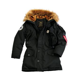 Polar Jacket Woman - black