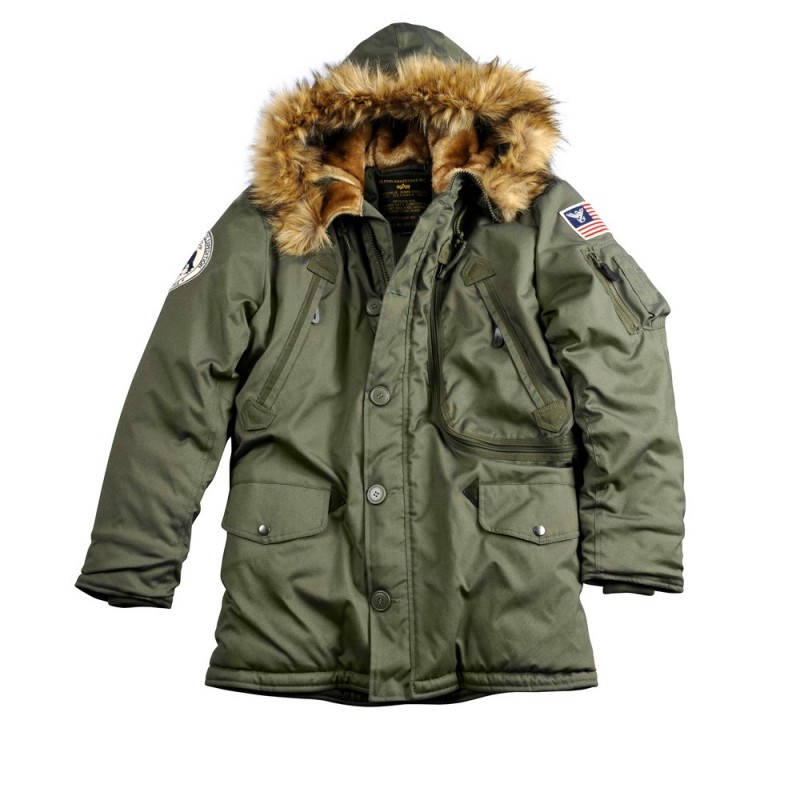 Polar Jacket - dark green