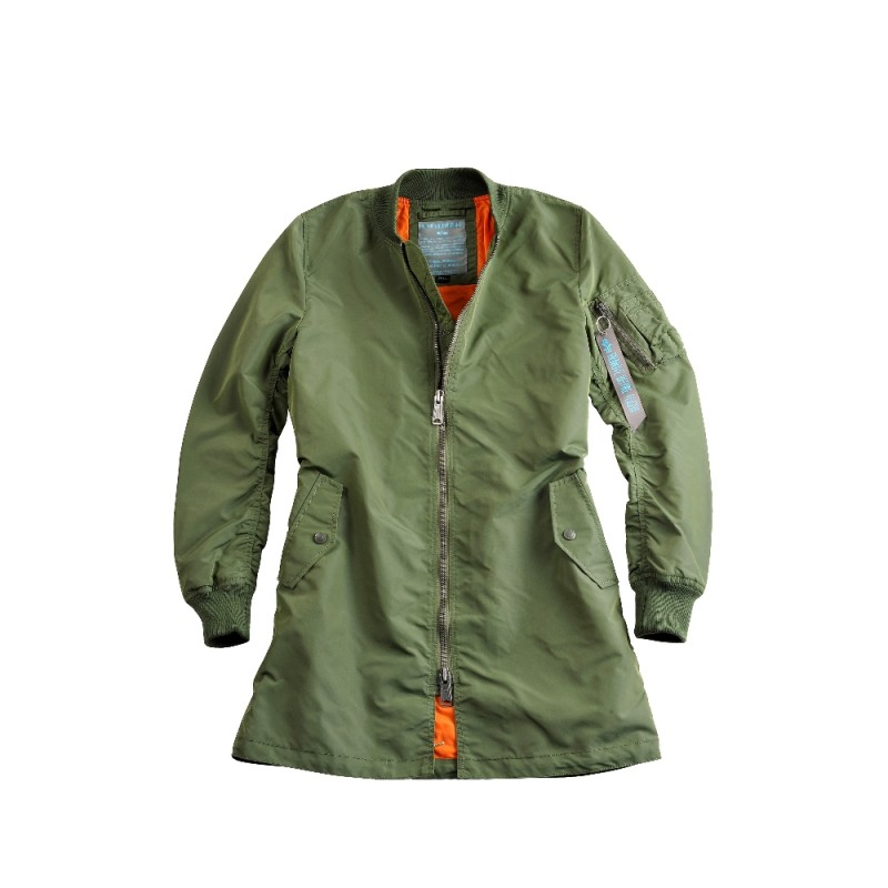 MA-1 TT Coat Woman - sage green