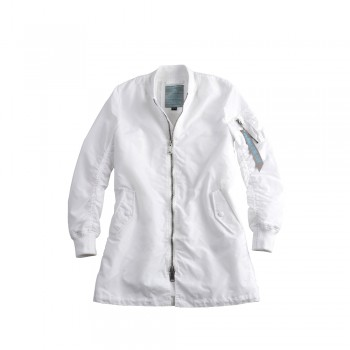 MA-1 TT Coat Woman - white