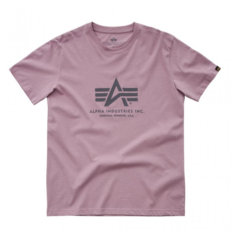 Basic T - silver pink