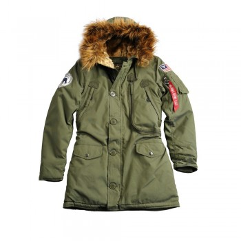 Polar Jacket Woman - dark green