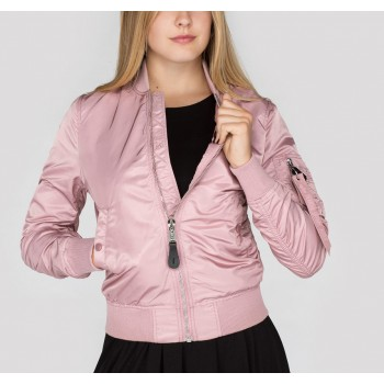 MA-1 VF LW Woman- silver pink