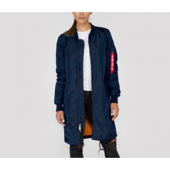 MA-1 TT Coat Woman - replica blue