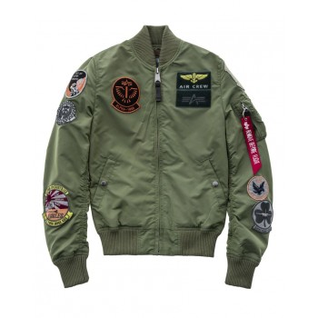 MA-1 TT Patch Woman - sage green