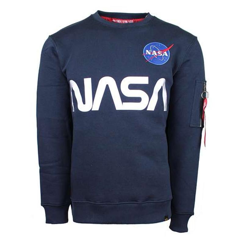 NASA Reflective Sweater - replica blue