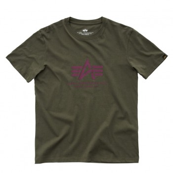 Basic T - dark green