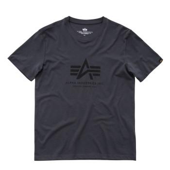 Basic T - greyblack/black
