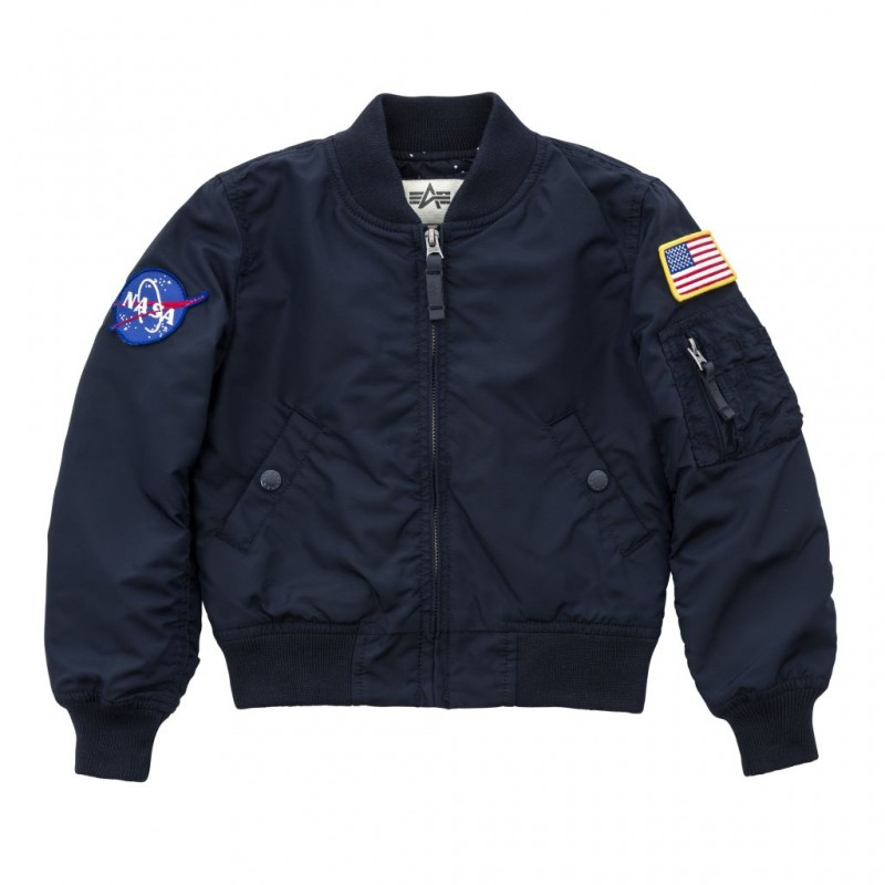 MA-1 TT NASA Kids - replica blue