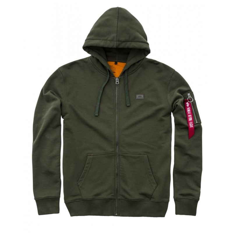 X-Fit Zip Hoody - dark green