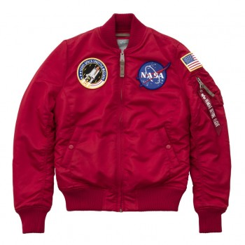 MA-1 VF NASA Woman - speed red