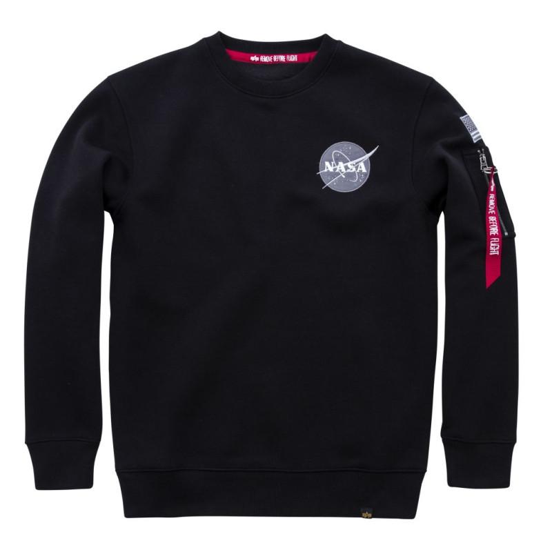 Space Shuttle Sweater - black