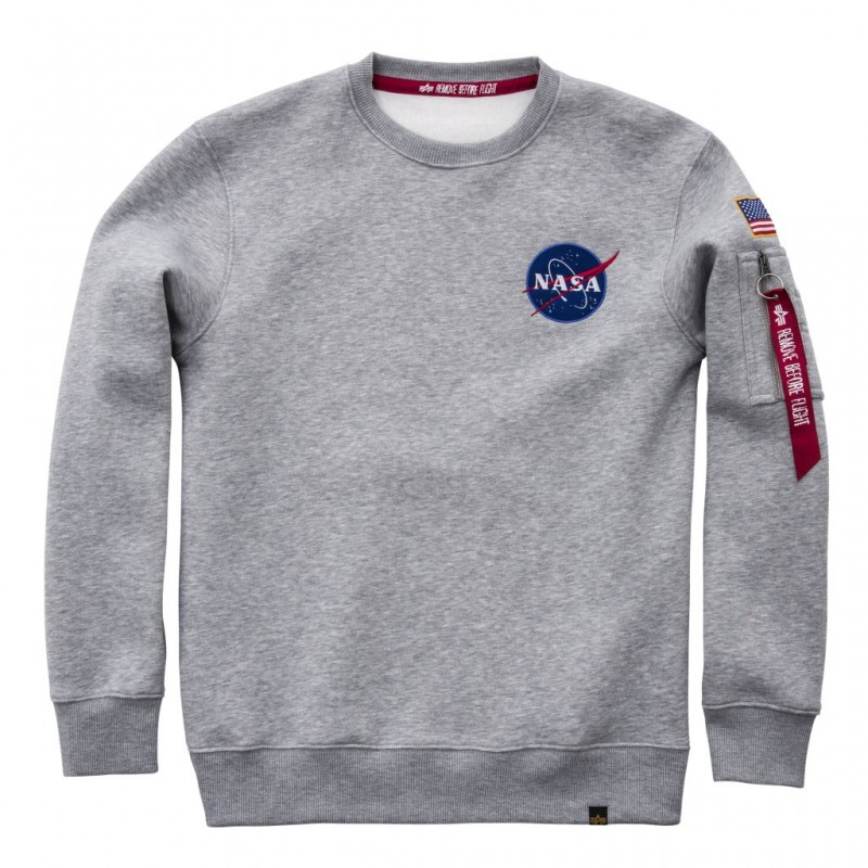 Space Shuttle Sweater - greyheather