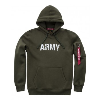 Army Navy Hoody - dark green