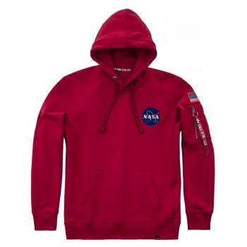 Space Shuttle Hoody - speed red