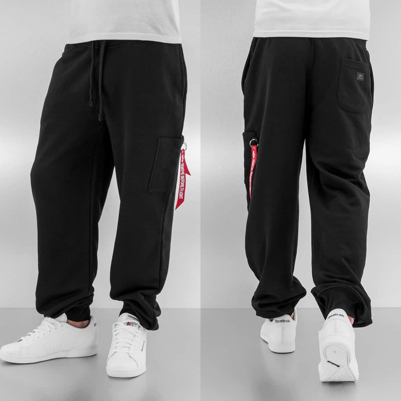 X-FIT LOOSE CARGO PANT - black