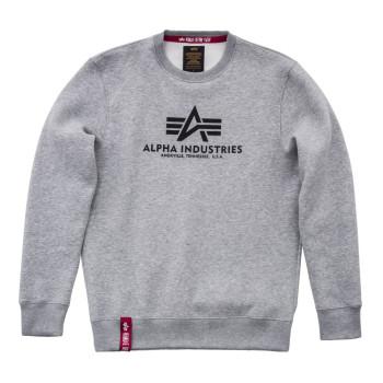 Basic Sweater - greyheather