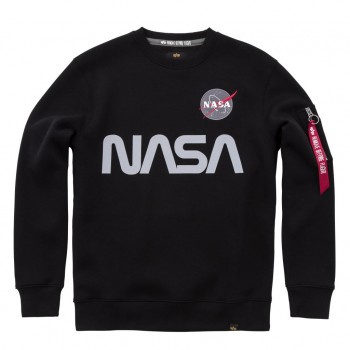 NASA Reflective Sweater - black
