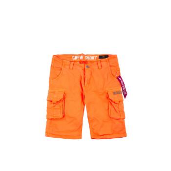 CREW SHORT - flame orange