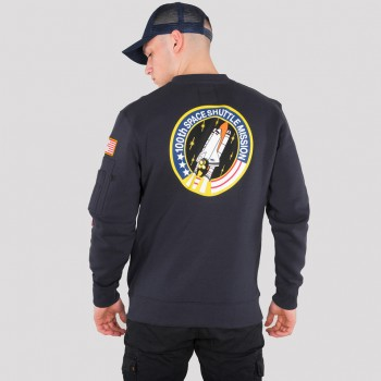 Space Shuttle Sweater - replica blue