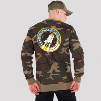 Space Shuttle Sweater - woodcamo65