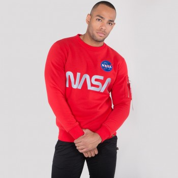 NASA Reflective Sweater - speed red